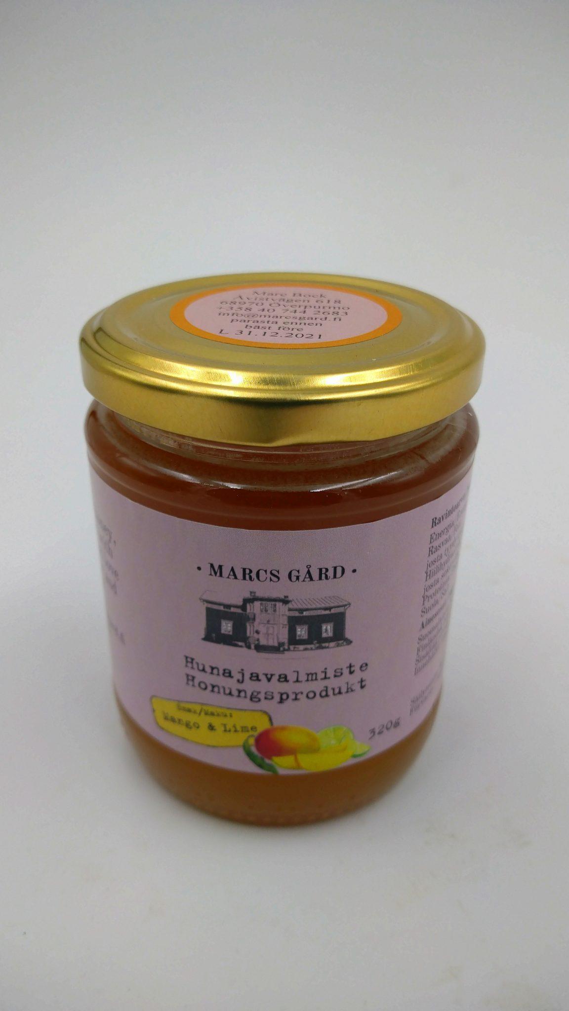 Honungsprodukt, mango & lime